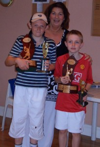 2010 Conor Mckenna winners & runners up with Maria 1