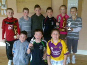 2010 Conor Mckenna winners & runners up with Maria 3