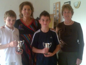2010 Conor Mckenna winners & runners up with Maria 6