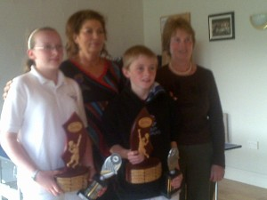2010 Conor Mckenna winners & runners up with Maria 7