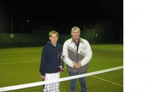 Jimmy McDonald Teenagers Cup 2011 won by Conor Ber 1