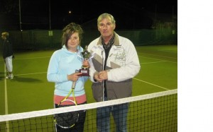 Jimmy McDonald Teenagers Cup 2011 won by Conor Ber 2